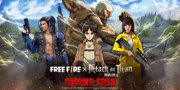 Attack on Titan x Free Fire
