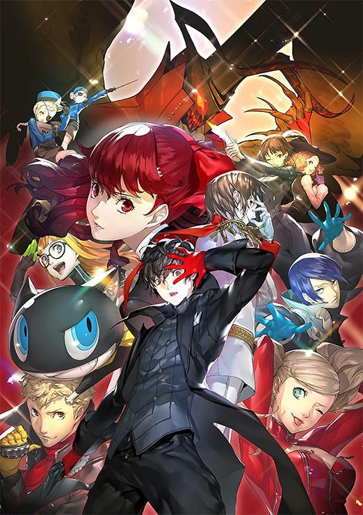 Persona 5 Royal key Art