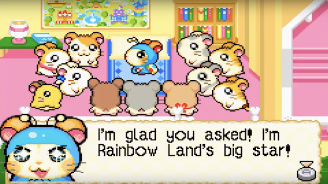 Hamtaro, Rainbow Rescue