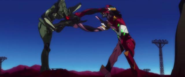 Screenshot from Evangelion: 3.0+1.0