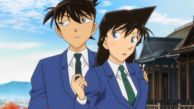 Shinichi Kudo e Ran Mori