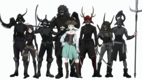 Adult Swim, Crunchyroll Announce Original Anime 'Kaizoku Oujo' for 2021