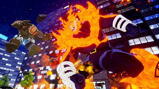 Crunchyroll - My Hero Academia Game Details Endeavor and