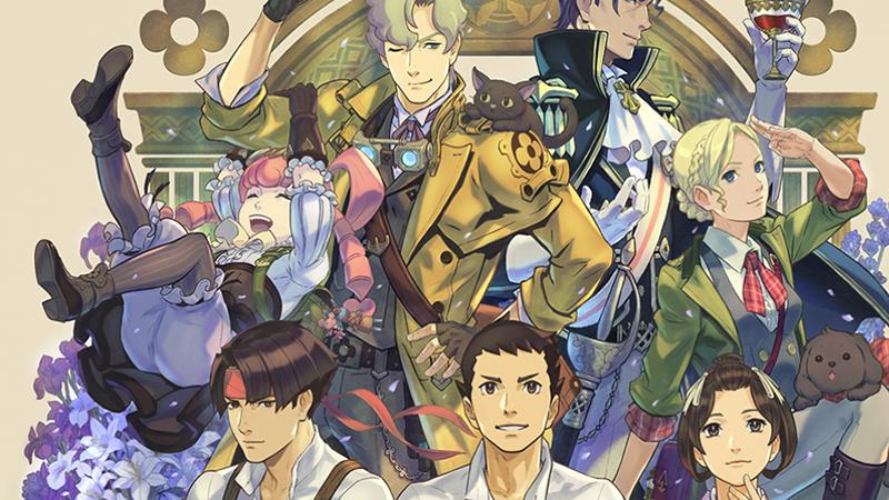 The Great Ace Attorney Chronicles art by Kazuya Nuri