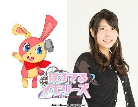 "Chitose Morinaga como Nejire-Usagi (""Screw-Rabbit"")"