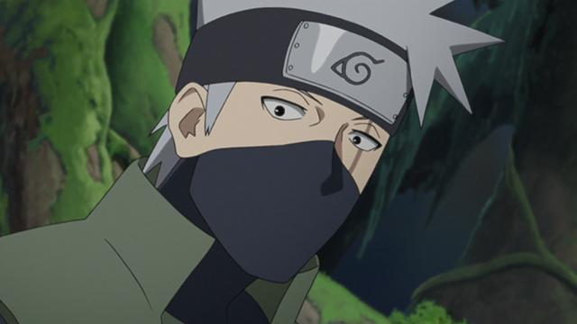 Kakashi, Naruto