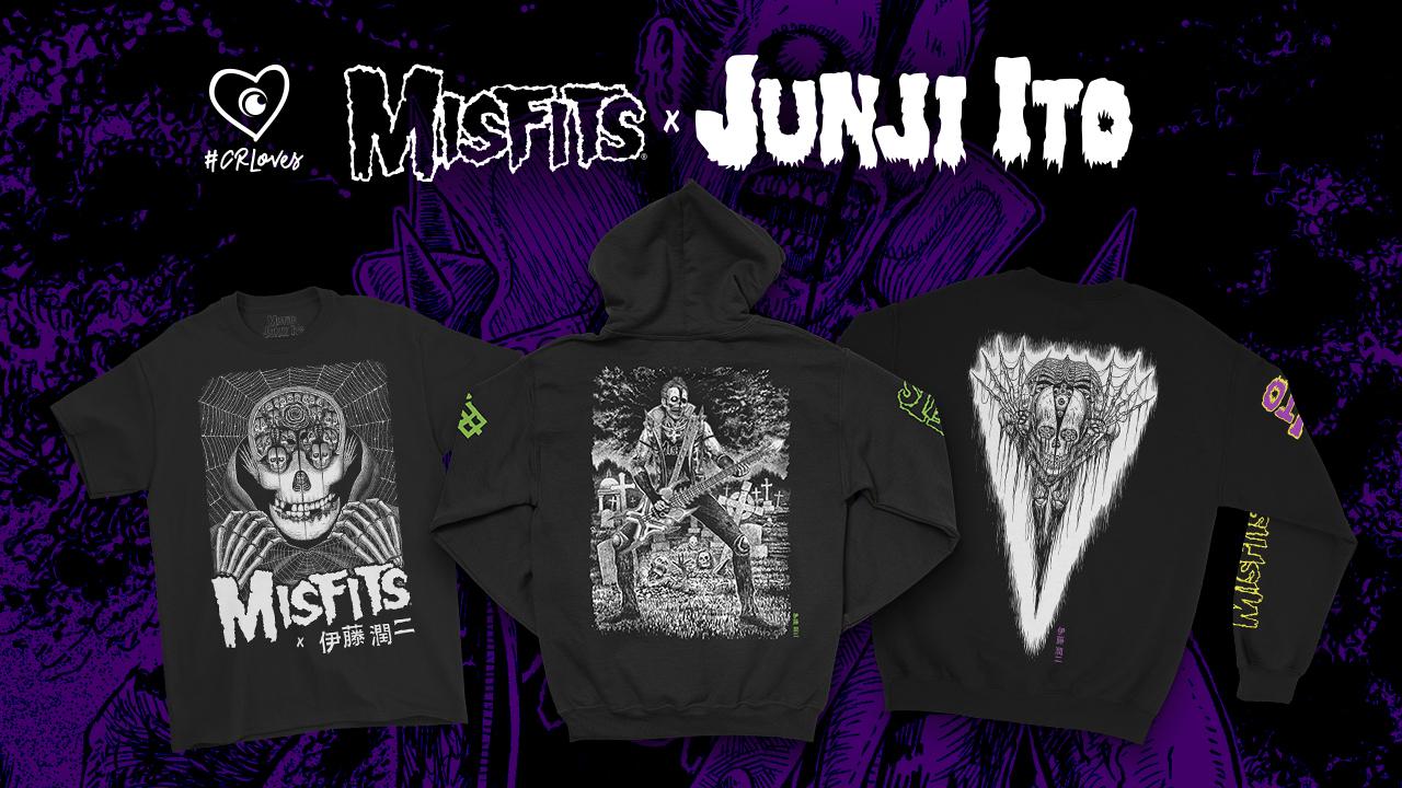 Junji Ito x Misfits
