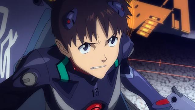 Shinji Ikari como se ve en Evangelion 3.33