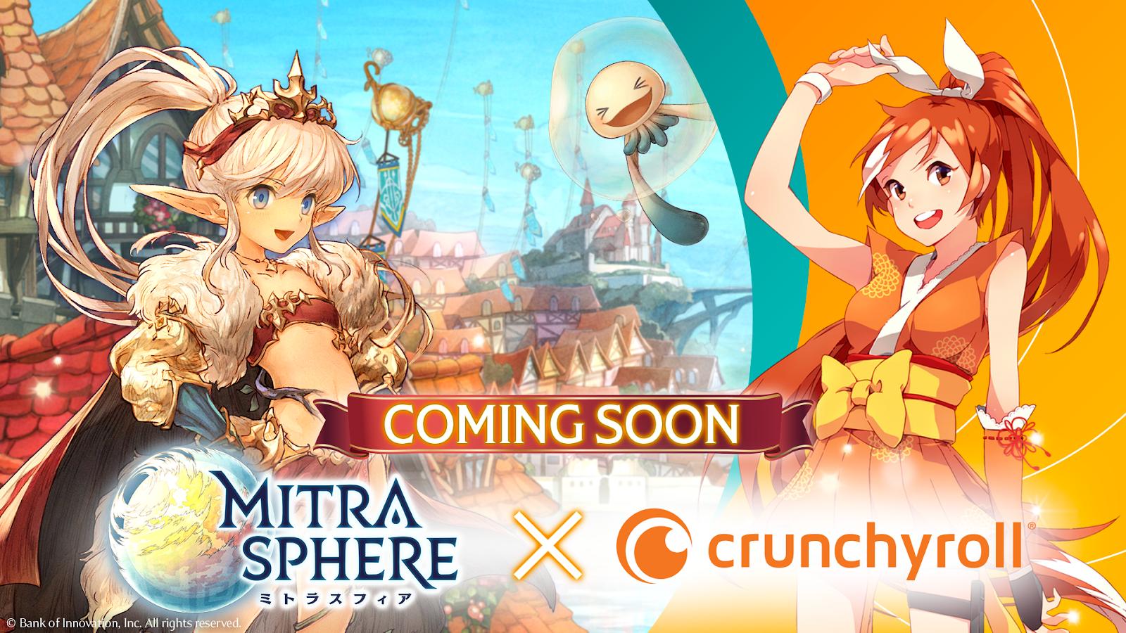 Crunchyroll-Hime x Mitrasphere
