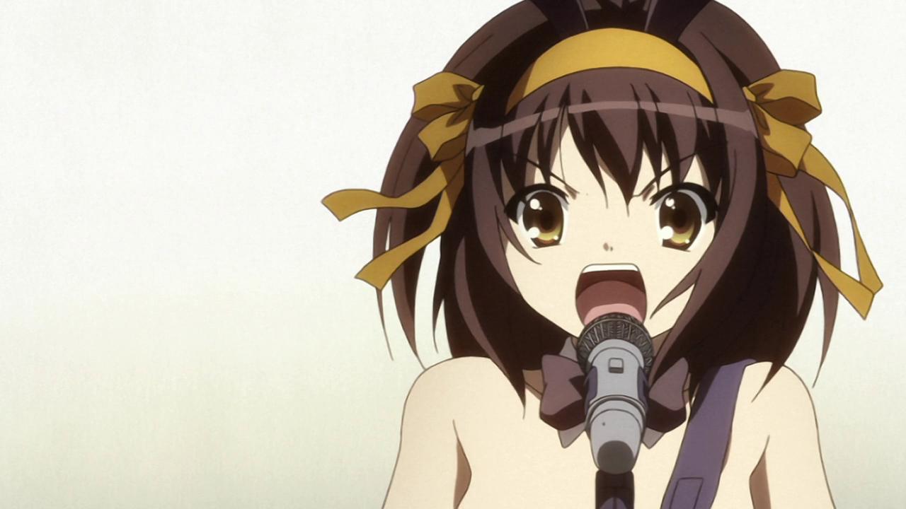 The Melancholy of Haruhi Suzumiya Insert Song - God Knows...