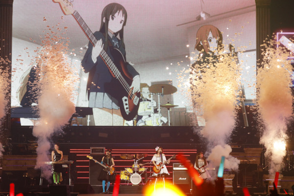 K-ON! performance at Animelo Summer Live 2019