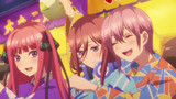 The Quintessential Quintuplets (Go-Toubun no Hanayome) Episodio 4