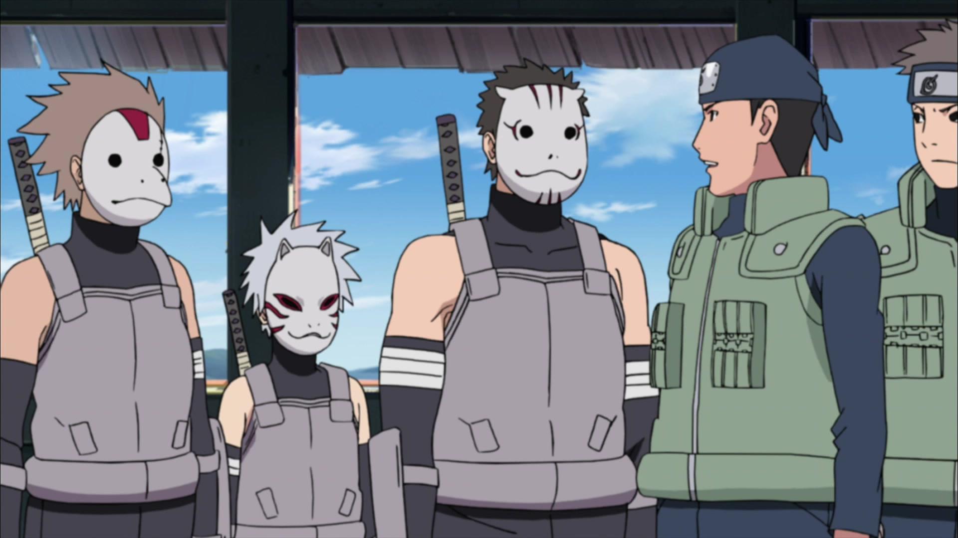 Naruto Shippuden - Staffeln 16-23 Folge 350, Kakashi: Shadow