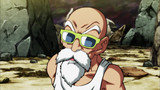 A Desperate Battle! Master Roshi's Sacrifice!!