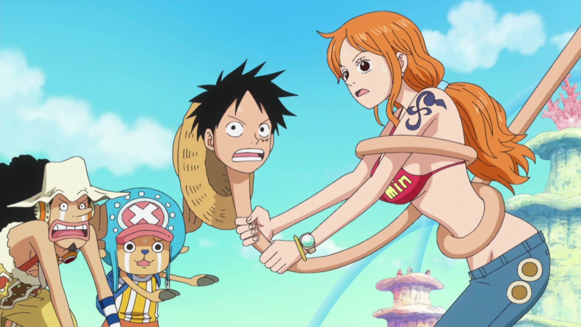 One Piece: Fishman Island (517-574) Episode 573, Finally Time to Go