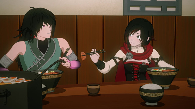RWBY Volume 5 Episode 7, Rest and Resolutions, - Watch on Crunchyroll