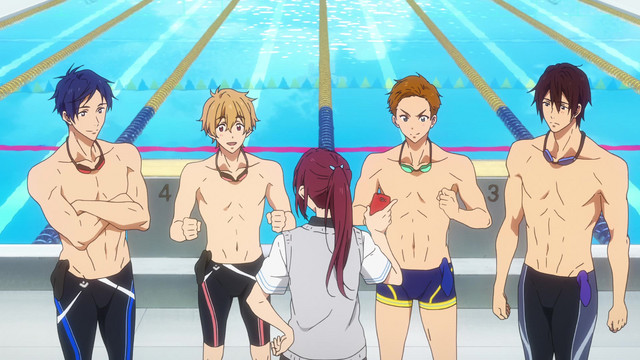 Free! -Dive to the Future- Episode 8, Metamorphosis of the Soul