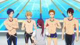 Free! -Dive to the Future- Épisode 8