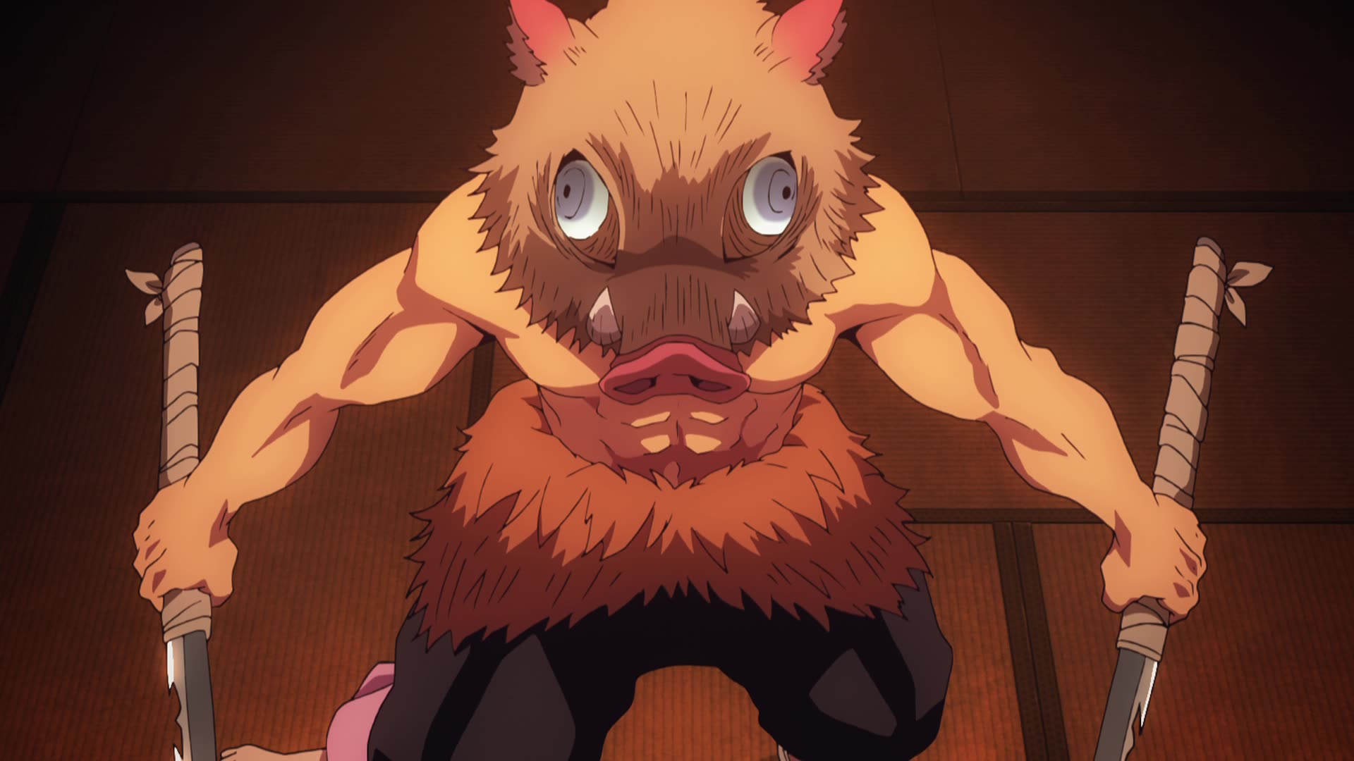 Demon Slayer: Kimetsu no Yaiba Episode 12, The Boar Bares
