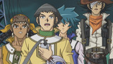 Judai Versus Manjome and Dark Sword the Dragon Knight
