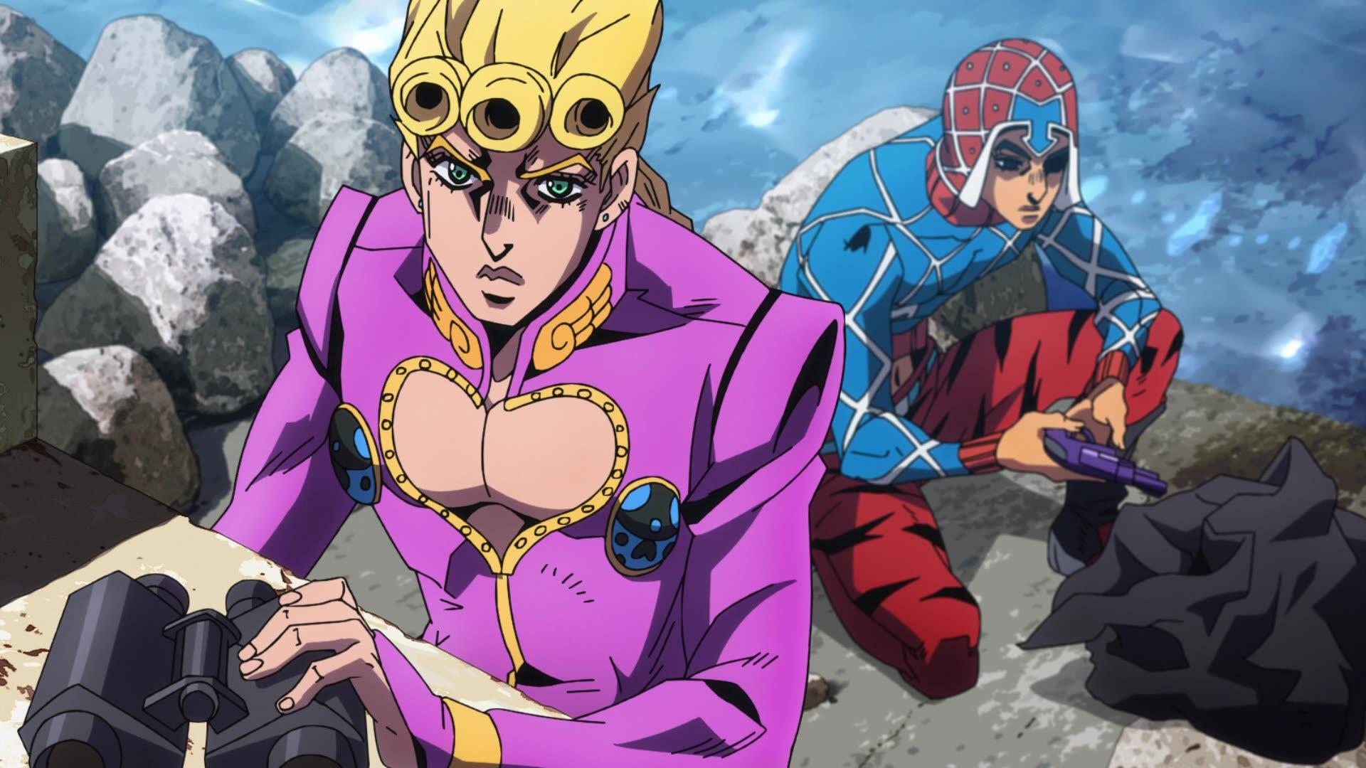 JoJo's Bizarre Adventure: Golden Wind Episode 7, Six Bullets