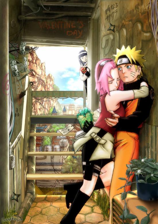 Sakura and sasuke kissing posted by christopher thompson