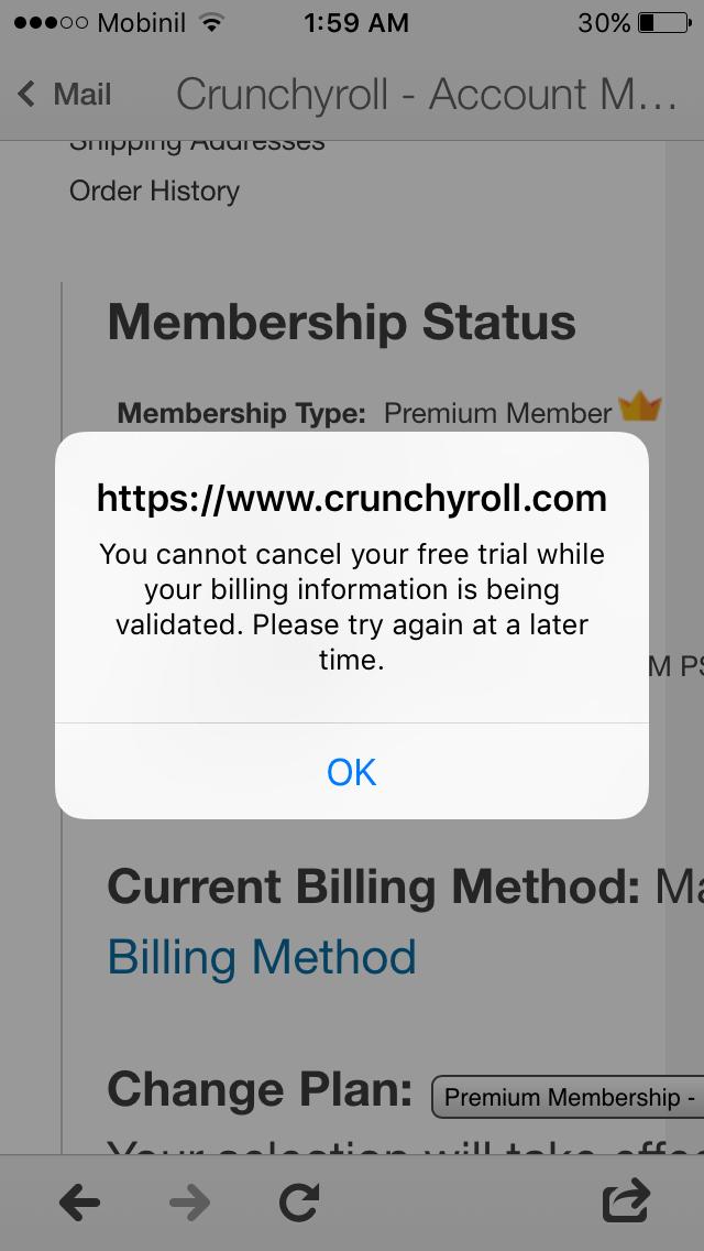 crunchyroll free membership account