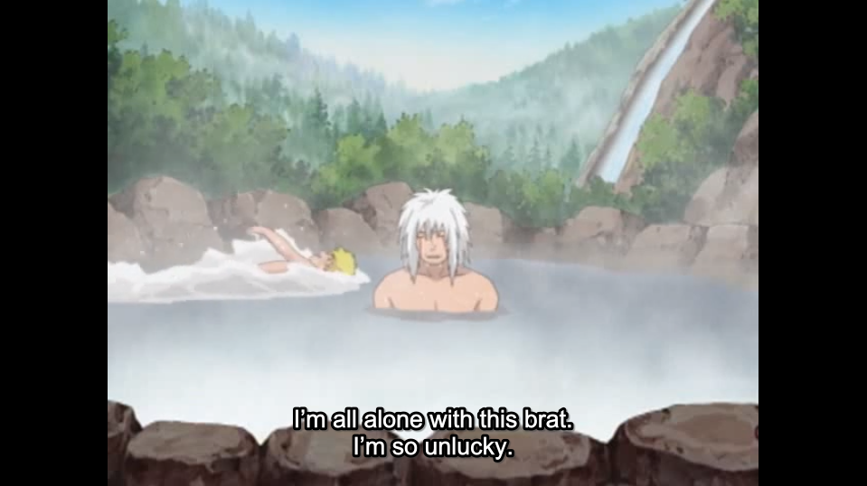 In THE FILLER ZONE, we are all Jiraya. Or are we?