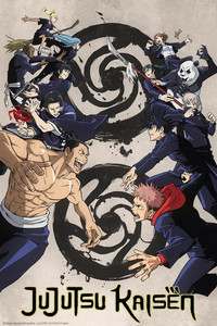JUJUTSU KAISEN (English Dub) is a featured show.