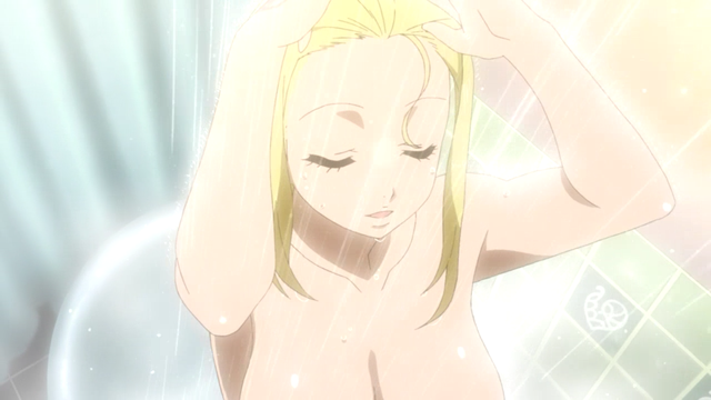 Lucy Taking A Shower In The Fairy Tail Movie I Was Like Jesus Holy Christ Lucy