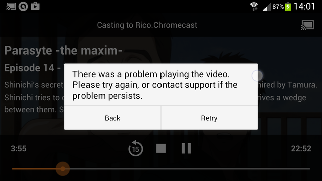 Crunchyroll - Forum - There was a problem playing the video