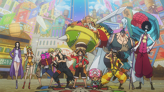 Crunchyroll Pirates Marines Revolutionary Army Gather In One