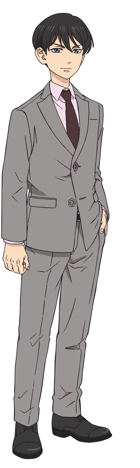 Un escenario de personajes de Naoto Tachibana del próximo anime de televisión Tokyo Revengers.