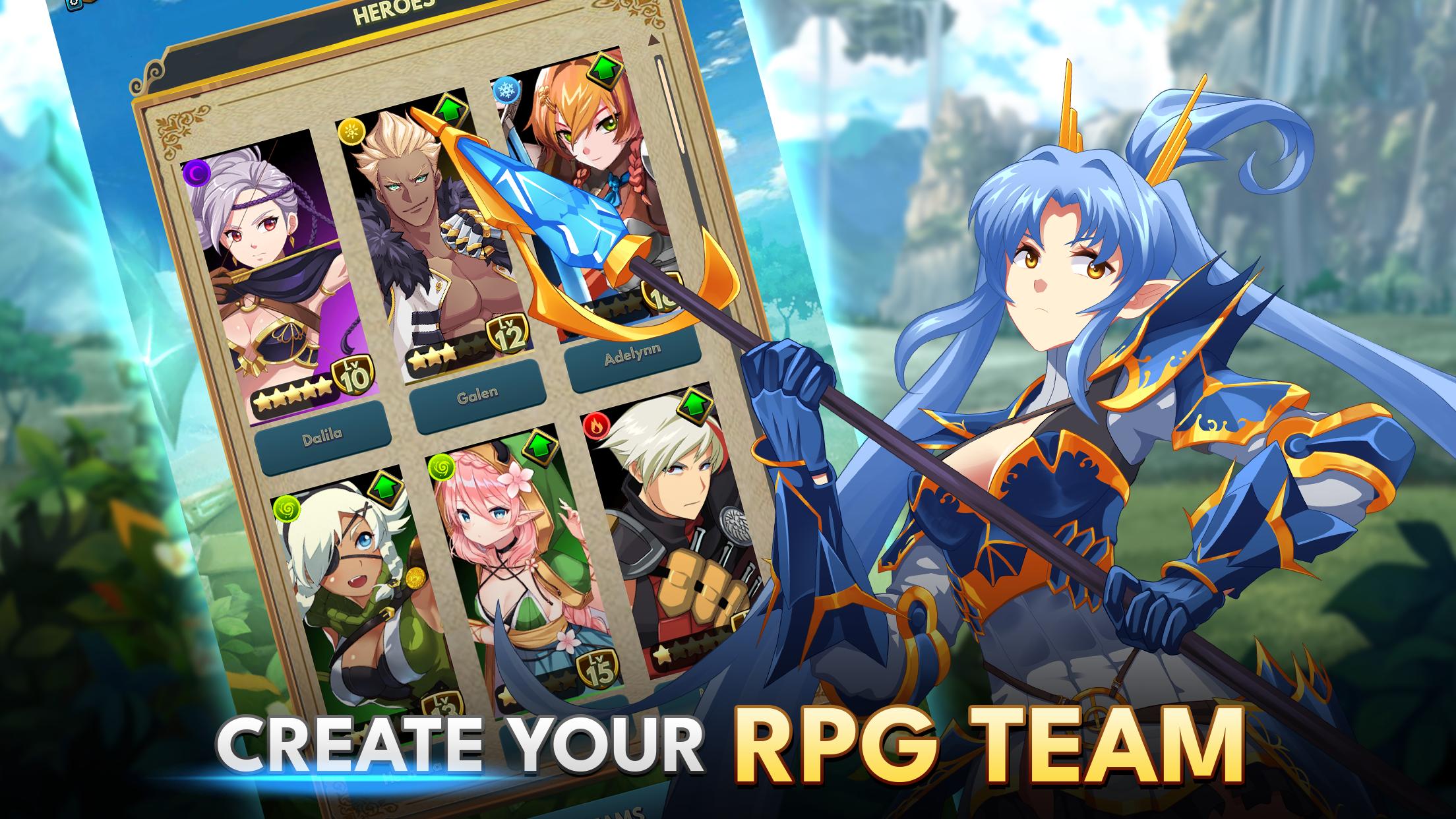 Create Your RPG Team