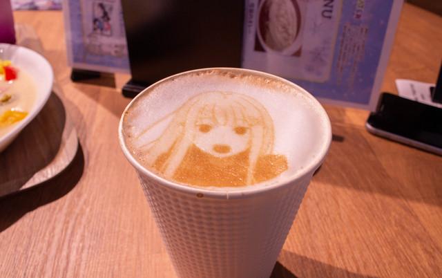 Re:Zero: The Frozen Bond Collaboration Cafe Latte