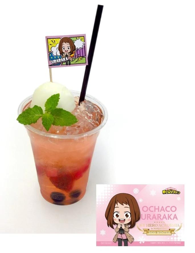 Menú Namjatown My Hero Academia: Bebida Ochaco