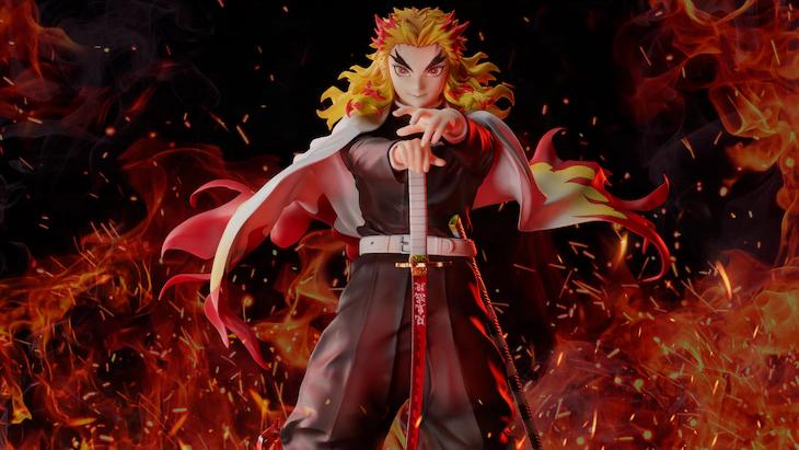 Kyojuro Rengoku Demon Slayer figure