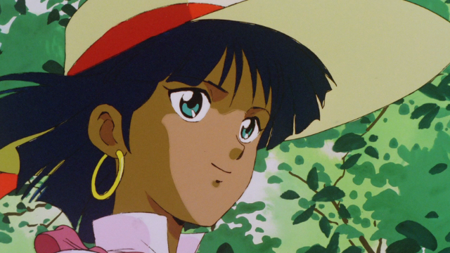 Nadia smiling in Nadia: Secret of the Blue Water