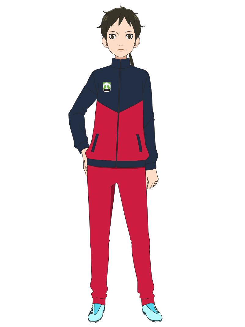 Un escenario de personajes de Nanami Zaizen del próximo anime de televisión Farewell, My Dear Cramer.