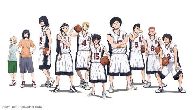 Image result for ahiru no sora anime