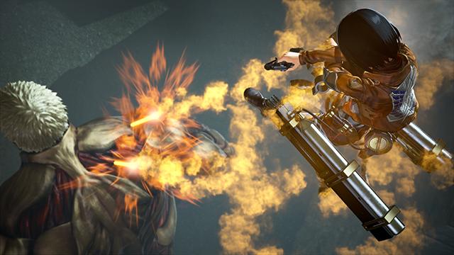 Attack on Titan 2: Final Battle, Thunder Spear