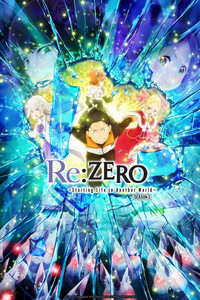 Re:ZERO -Starting Life in Another World- Season 2 (English Dub) is a featured show.