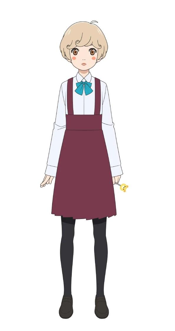 Un escenario de personajes de Yuu Tenma, miembro del club de fútbol femenino de la escuela secundaria Urawa Kuninari.
