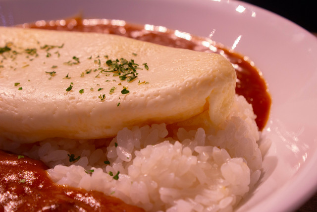 Re:Zero: The Frozen Bond Collaboration Cafe Egg and Curry