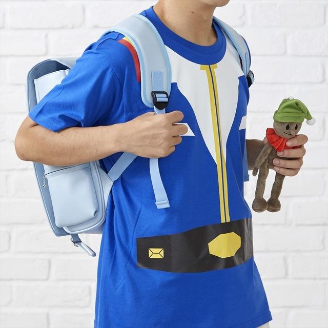 Gundam rucksack and doll