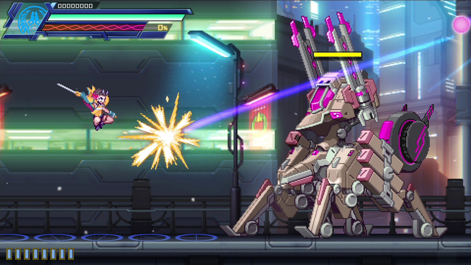Azur Striker Gunvolt 3