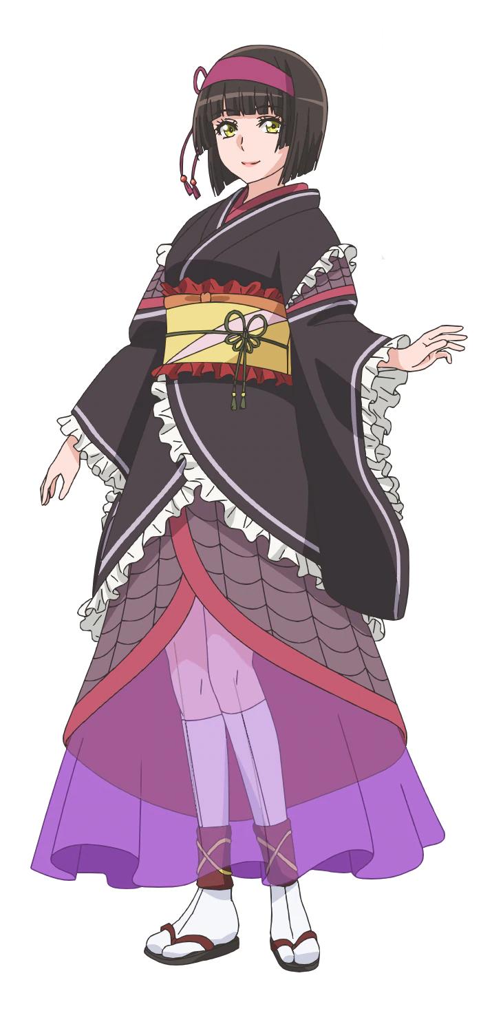 Akari Kito (Nezuko Kamado em Demon Slayer) como Mio