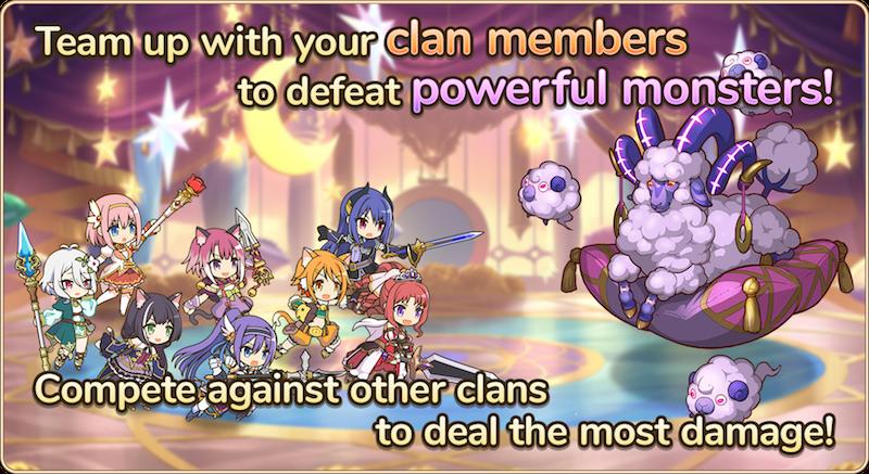 Princess Connect!  Re: Dive Clan Battles