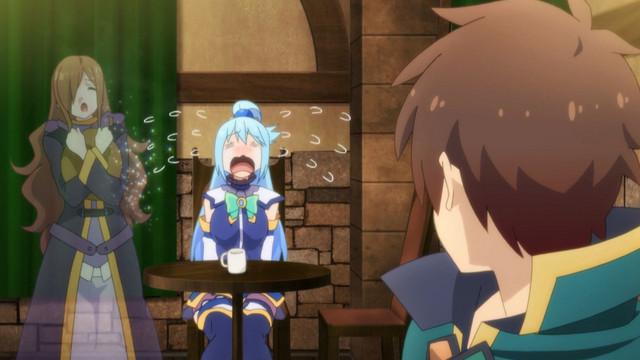 Los sentimientos de Aqua están heridos