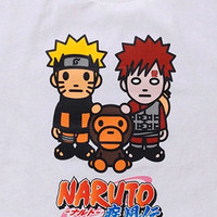 6e2f04d65 Japanese clothing brand BAPE (AKA A Bathing Ape) has teamed up with plenty  of manga and anime series in the past for clothes and goods, and the latest  ...